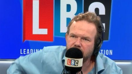 LBC presenter James O'Brien called the state of British politics 'hilarious' live on air; LBC