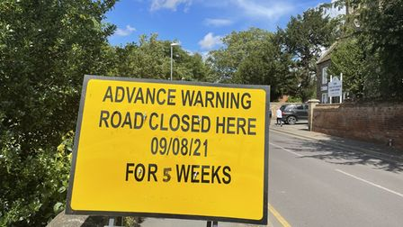 Church Street in St Neots will be closed to traffic.
