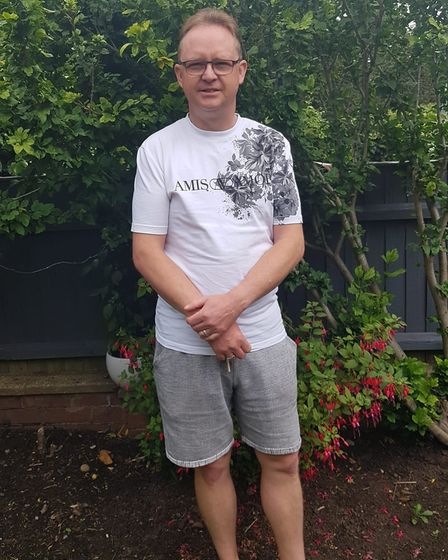 Stephen Rouse, 45, woke up to discover his car window smashed in Gorleston on Friday, August 6.