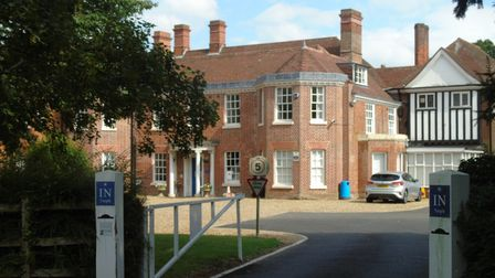 The new police training complex at Hethersett Old Hall School
