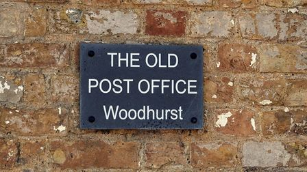 Woodhurst, like most villages, had an old post office.