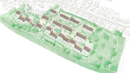 Plans for 52 homes in Uplands, Nailsea