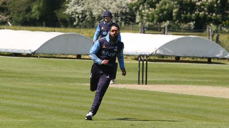 Hamza Ahmed scored a valuable 75 as North Mymms beat Hertford in the Herts Cricket League Premier Division.