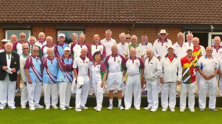 Shire Park Bowls Club (Tewin) hosted a representative game between Hertfordshire County and the East Herts Bowls League
