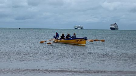 Paignton Rowing Club hosted the first gig regatta of the season