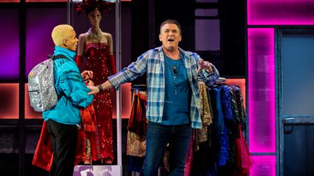 Layton Williams, asJamie,and Shane Richie, as Hugo,in Everybody's Talking About Jamie, heading to The Lowry this September