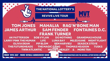 The National Lottery's Revive Live Tour is supporting grassroots music venues.