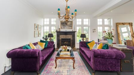 Striking design is at the heart of this super-luxe stately home