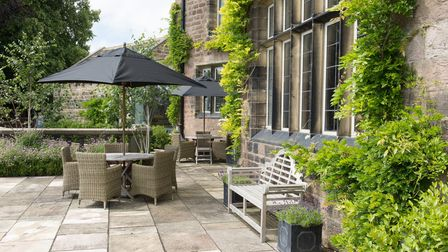 A place to relax - the beautiful patio