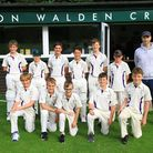 Saffron Walden Cricket Club's U12 side completed a memorable year with two league titles