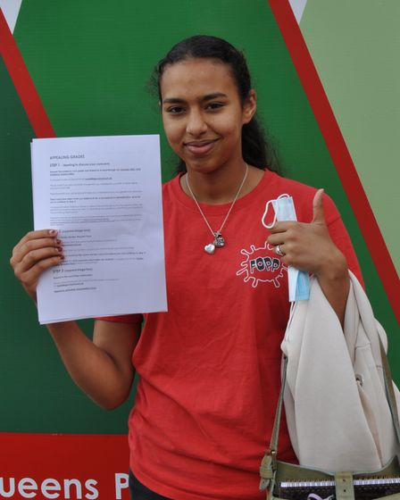 Zahida is off to medical school after securing A* A* A