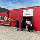 Students were at The Hive in East Norfolk Sixth Form to collect their results on Tuesday, August 10.