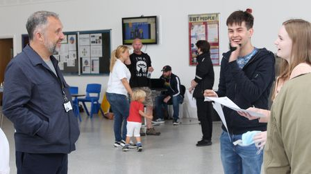 Thomas Clarkson Academy students Wisbech get A-level results