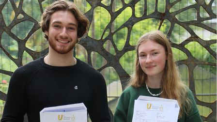Urswick to Oxbridge students Cosmo Siddons and Miriam Summers.