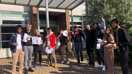 Preston Manor pupils delighted with A Level results 2021