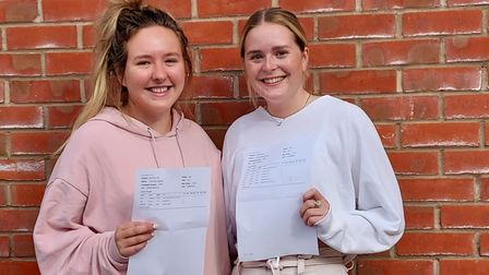 PICTURES: Backwell School students celebrate results
