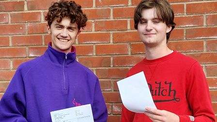 Backwell School A-level results day