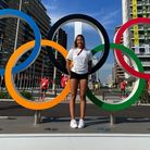 Gaurika Singh at the Tokyo Olympic Games