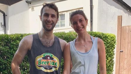 Zack Case and Kate Marston are fundraising for Macmillan Cancer Support