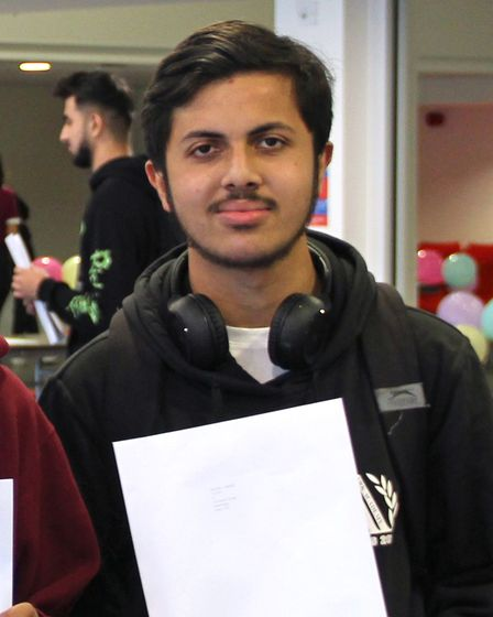 Ubaid got four A* at Ark Academy and will study physics at UCL