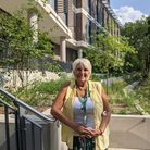 Debbie Cleeve-Evans, the Pears Building's first resident
