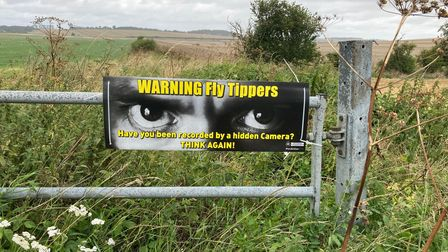 Herts police and the NFUare tackling fly-tipping in North Herts with a new pilot scheme.