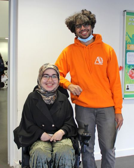 Brother and sister team: Hassan and Fatima Ali
