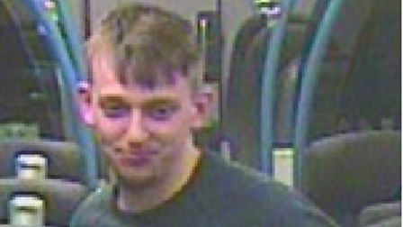 Officers would like to speak to this man in connection with an alleged sexual assault on a train which stopped at Wembley.