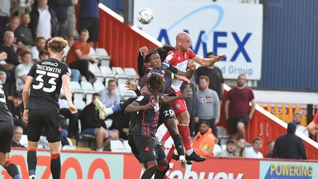 Scott Cuthbert was a proudman after Stevenage beat Luton Town in the Carabao Cup at the Lamex Stadium