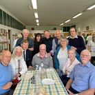 Friends and family of Ilford AC stalwart Lew Mockett attended a memorial event at Norfolk Bowls Club