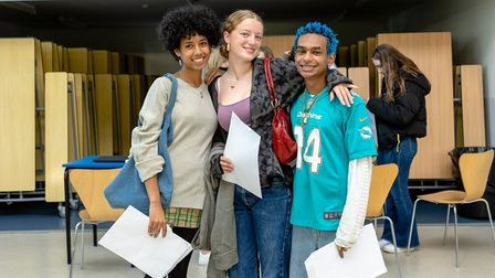 Highgate Wood headteacher Patrick Cozier said he was thrilled with the A Level results of his year 13s in 2021.