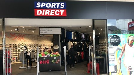 The new Sports Direct store in The Maltings.