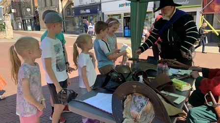 Events exploring the life and times of Oliver Cromwell are being held in Huntingdon.