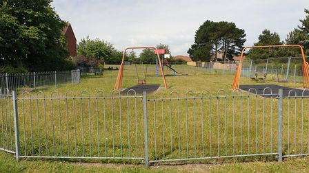 Cooper Road Play Park in Sheringham's south.