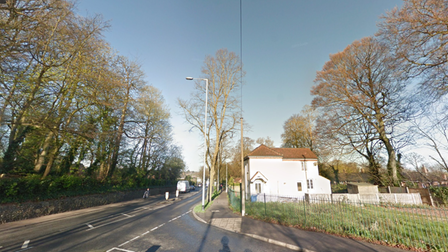 The junction of Dereham Road and Waterworks Road in Heigham Grove near Norwich