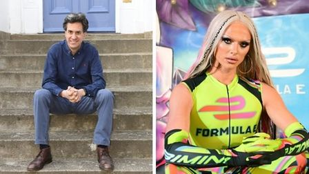 Ed Miliband and Bimini Bon Boulash are two of the speakers heading to UEA Live in Norwich.