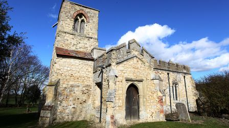 The Church of St Mary Magdalene in Caldecote.