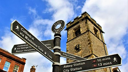 St Albans Clock Tower.
