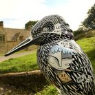 COTSWOLD AREA OF OUTSTANDING NATURAL BEAUTY - KINGFISHER TRAIL - IMOGEN HARVEY-LEWIS'S WORK AT THE N