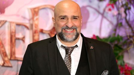 Omid Djalili attending the European Premiere of The Nutcracker and the Four Realms held at the Vue,
