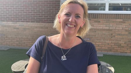 Jen Tupper, 48, from Mundesley, mum of Alfie, who got his GCSEs at Cromer Academy.
