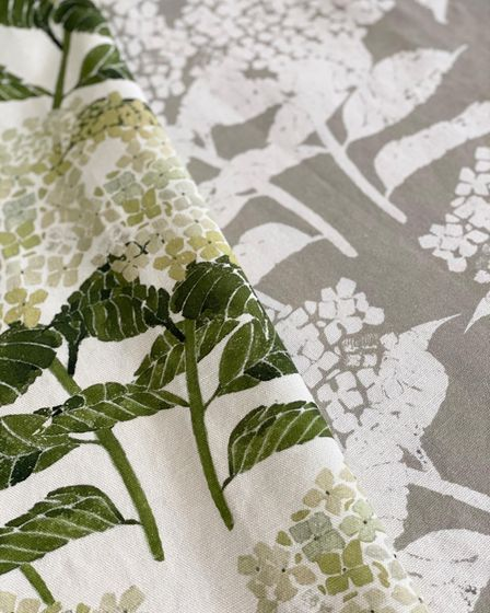 Hydrangea Print from Witts Design