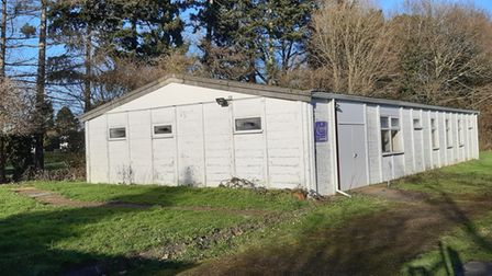Colney Heath Scouts HQ has been locked up since December 2019.