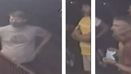 Police want to speak to these people following an assault in St Albans.