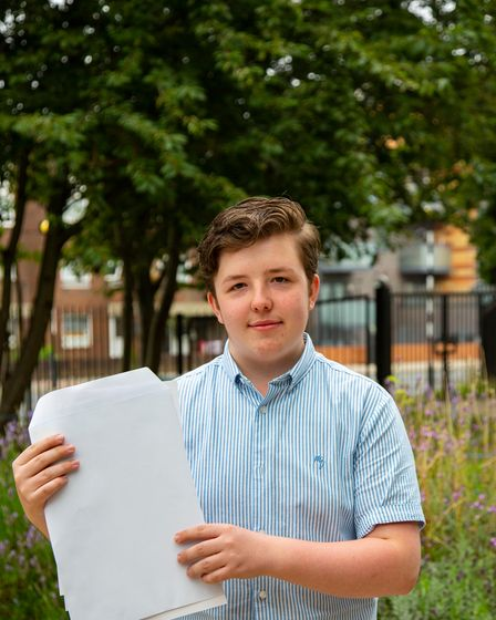 Dillon Donnelly, 15, has won a scholarship to Radley College with his clutch of top marks