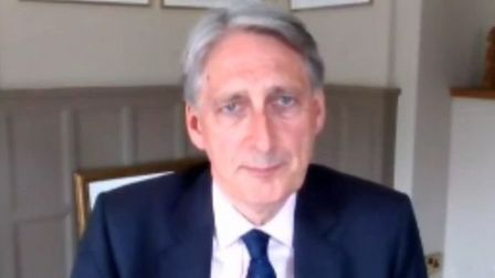 Former chancellor Philip Hammond called on a interim Brexit deal during a select treasury committee