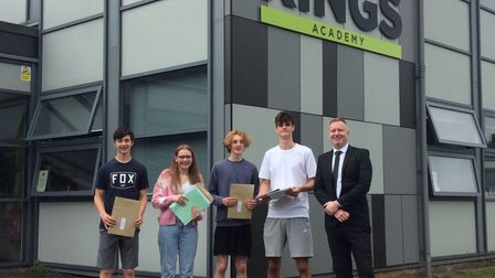 Kings Academy students received their GCSE results.