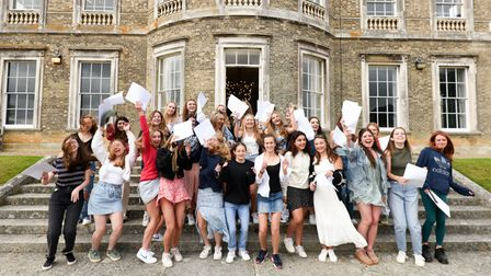 Students and parents were delighted with results at Ipswich High School