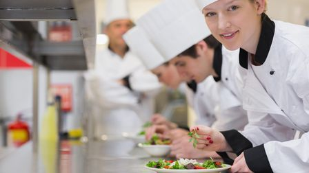 Culinary apprenticeship placement from Cambridge Regional College