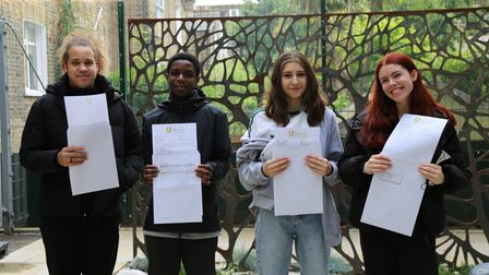 Students at Urswick celebrated excellent results after a turbulent year.